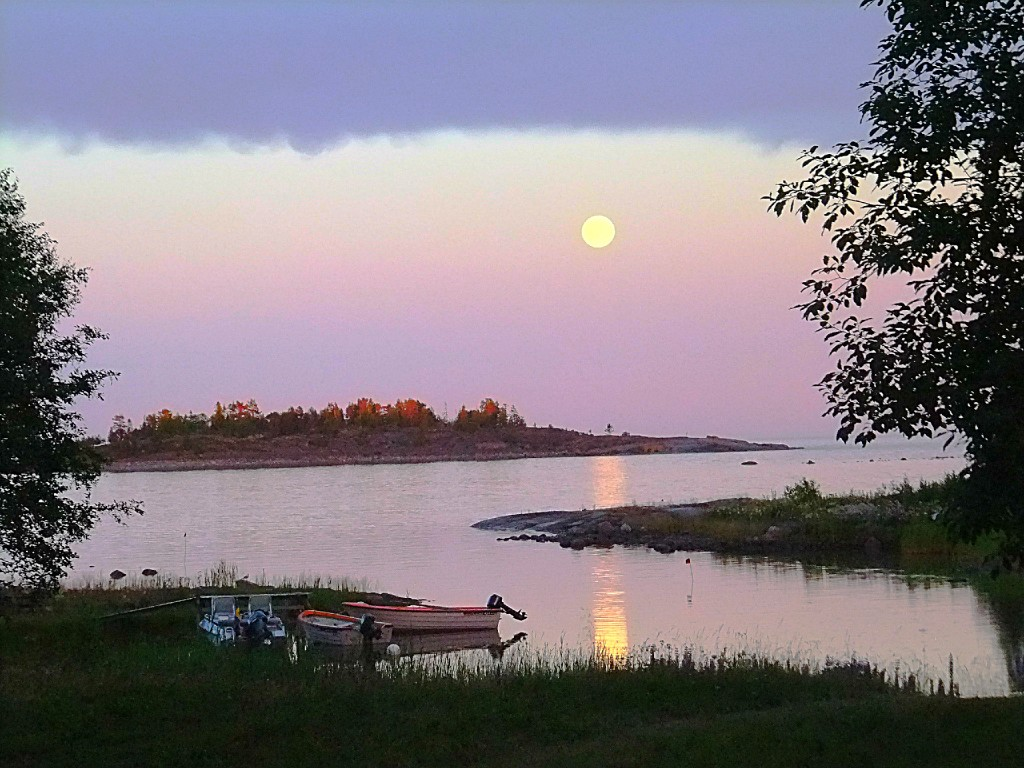 Fullmåne i Järnäsklubb